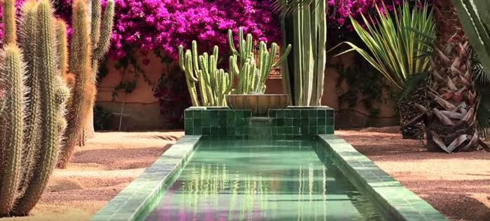 Jardin Majorelle de Marrakech – MAROC –