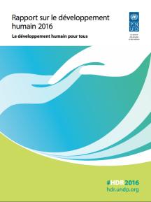rapport sur le développement humain PNUD