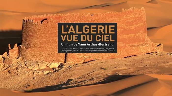 Vue du ciel sur l'Algérie par Yann Arthus-Bertrand.