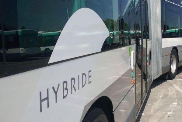 Autobus hybride ecologiques