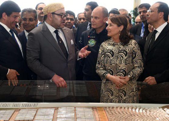 Inauguration de Noor par Mohamed VI et Ségolène Royal