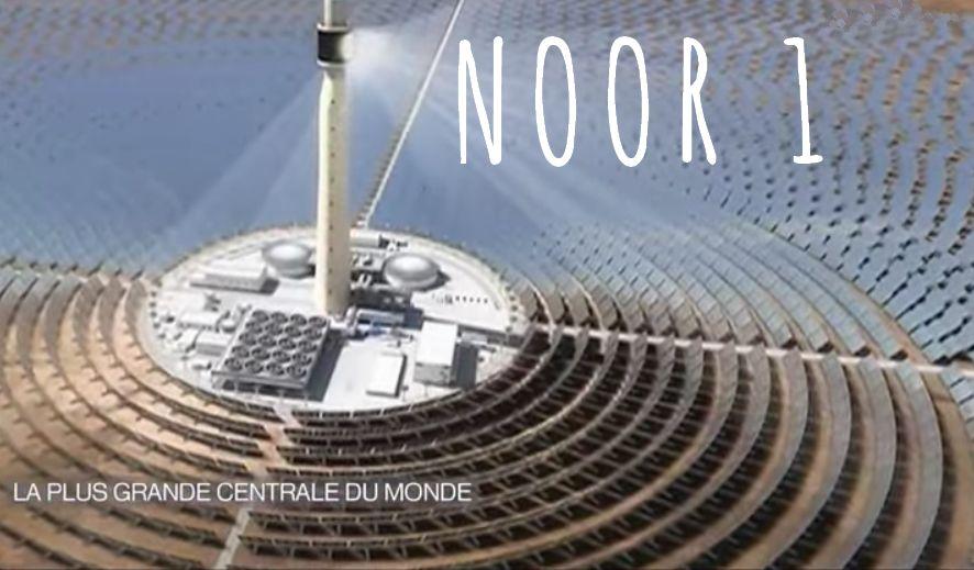 Noor centrale solaire du maroc