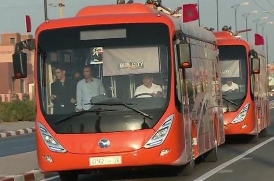 autobus electriques de Marrakech