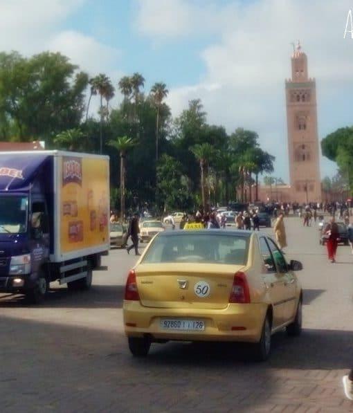Place jemaa El Fna de Marrakech maroc