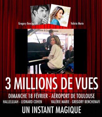Marie Pianiste Gregory Benchenafi Chanteur Alleluya