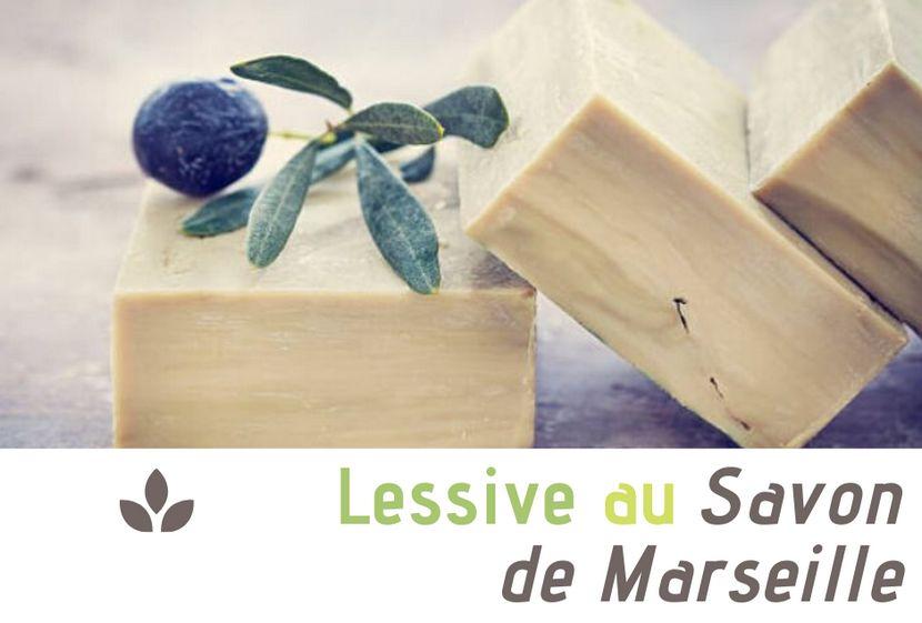 Recette de la lessive au savon de Marseille