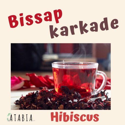 tasse de tisane infusion de bissap hibiscus