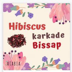 Tisane de bissap avec Hibiscus