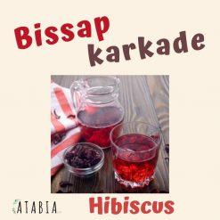Tisane de fleurs de hibiscus pour tisane de bissap karkade