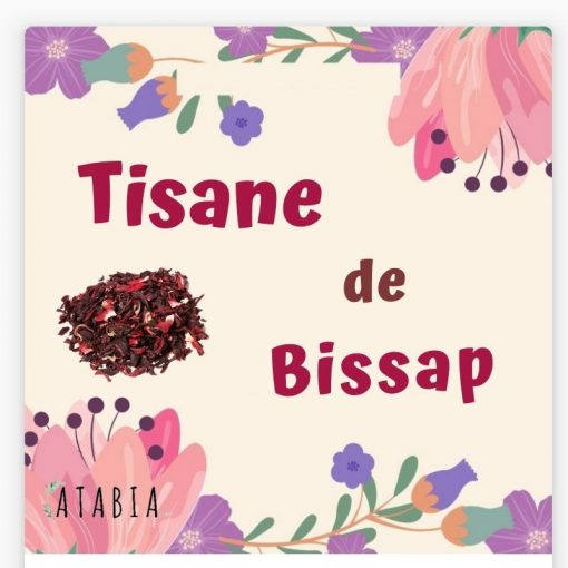 Tisane de hibiscus bissap
